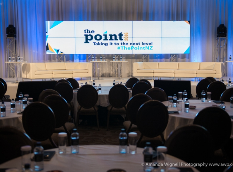 The Point Conference, Langham Hotel, Auckland