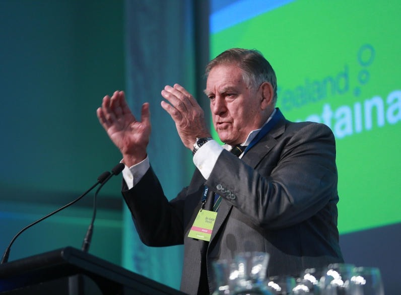 Sir Colin Meads, SNZ Conference, Shed 6, Wellington