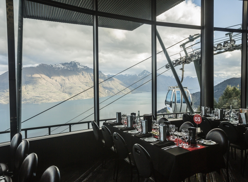 Steinlager Dinner, Skyline, Queenstown